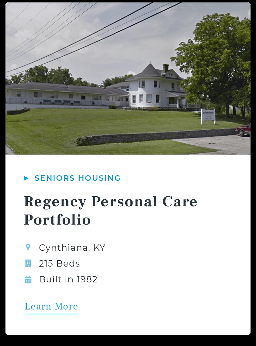 Regency Personal Care Portfolio