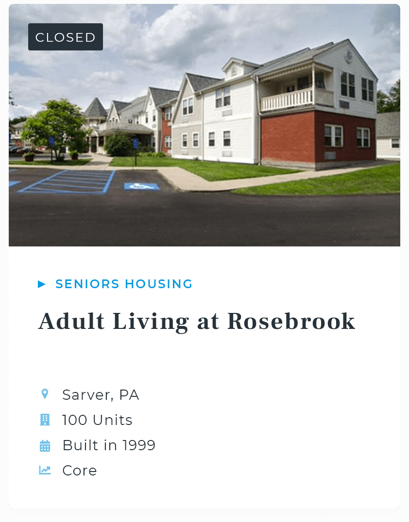 Adult Living at Rosebrook