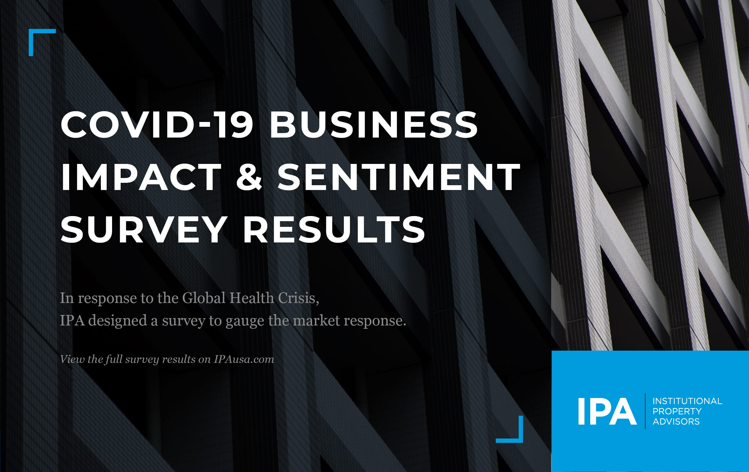 COVID-19 Impact & Sentiment Survey Results